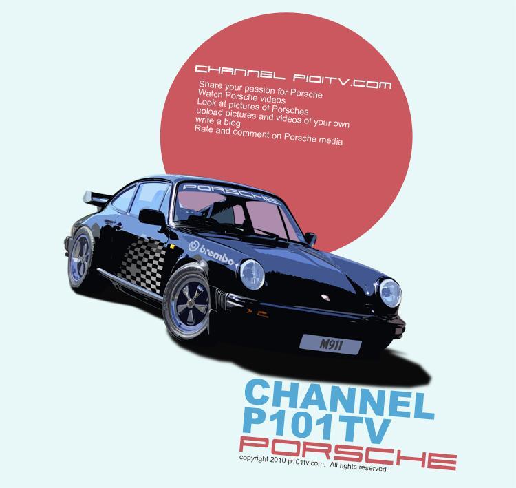 Porsche P101tv Poster