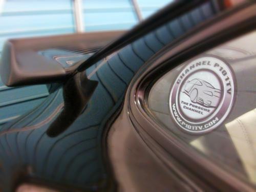 Porsche Channel P101tv Window Sticker