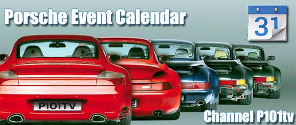Channel P101tv Porsche Event Calendar